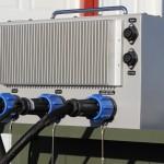 Infinity Electrofishing Control Box — back view