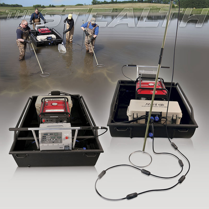 Electrofishing Stealth Mini-Boat Tote Barge