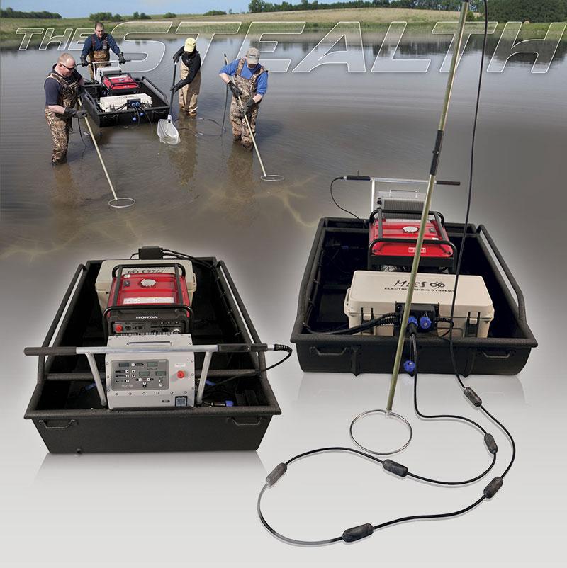 Electrofishing Stealth Mini-Boat Tote Barge