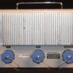 Infinity HC-80 Electrofishing Control Box, back panel